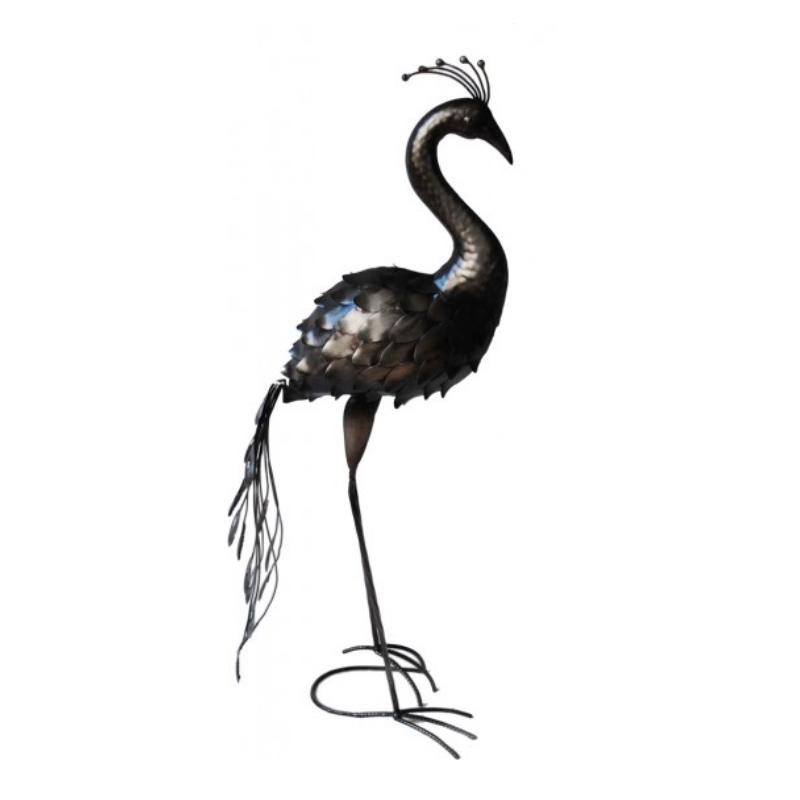 vogelskulptur skulptur figur garten dekoration metall. Black Bedroom Furniture Sets. Home Design Ideas